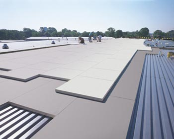 flat commercial roofing plano