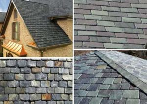 examples of slate roofing