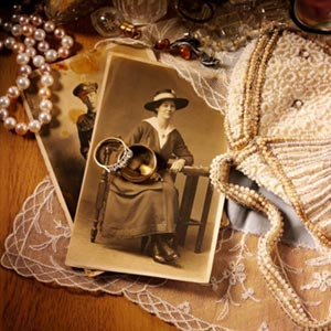 family photos and heirlooms